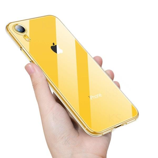 iPhone XR - Stöttåligt Transparent Skal transparent