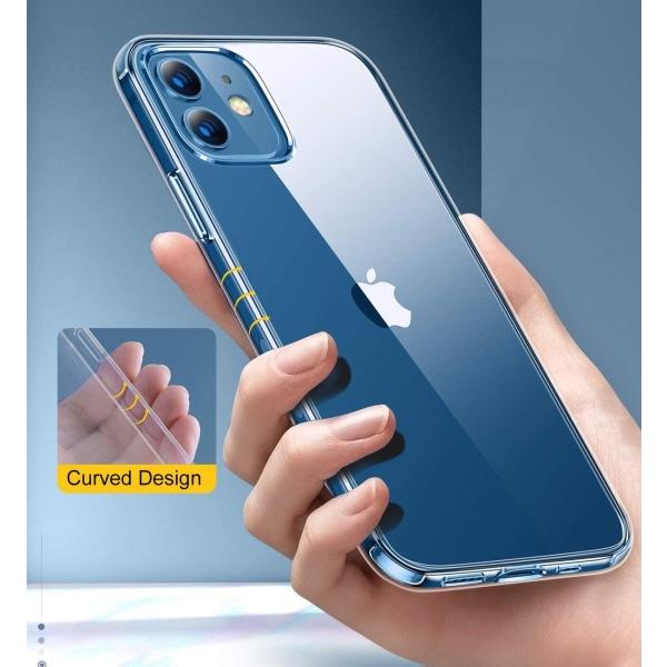 2-Pack iPhone 12 Mini - Slimmat genomskinligt skal transparent