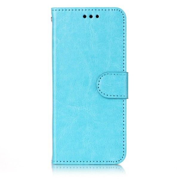 Samsung S9 - Plånboksfodral blå