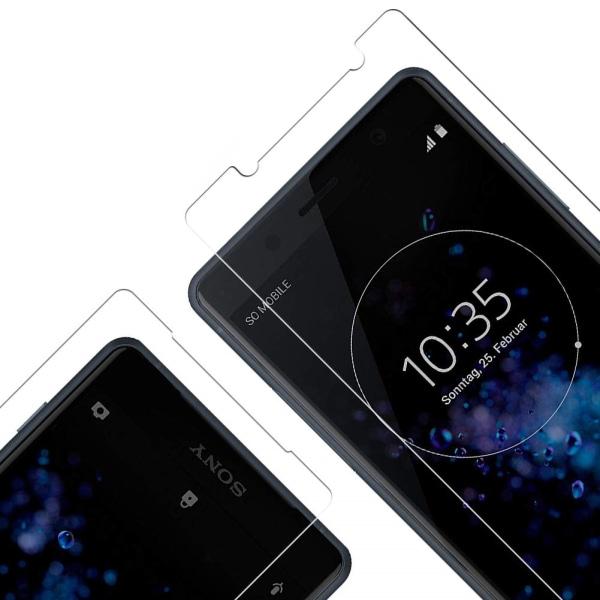 2-Pack Sony xperia XZ2 compact - Härdat Glas Skärmskydd