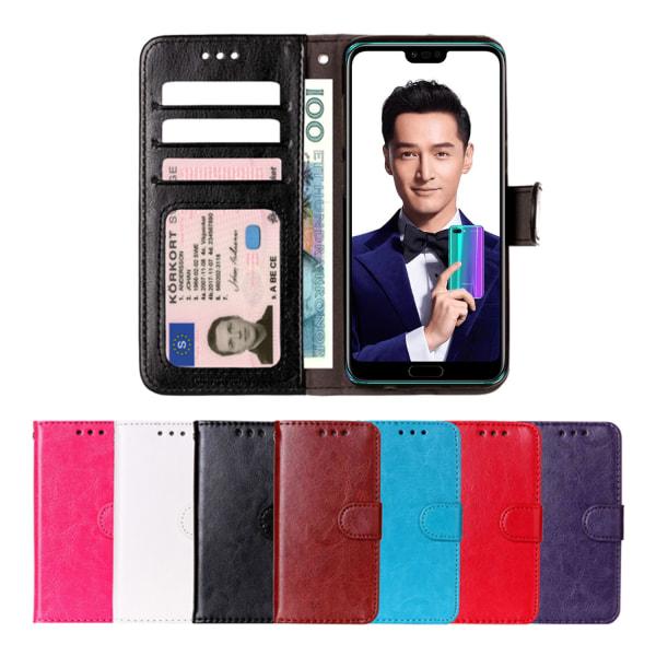 Huawei Honor 10 - Plånboksfodral svart