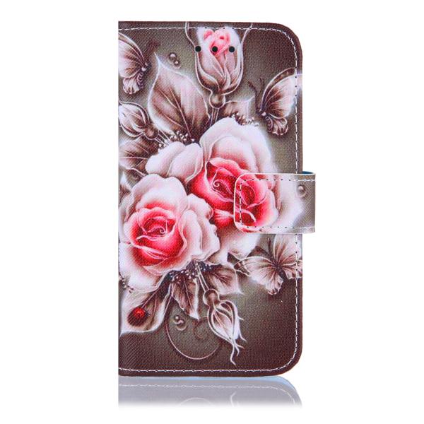 Röda rosor iPhone 12/12 Pro Plånboksfodral