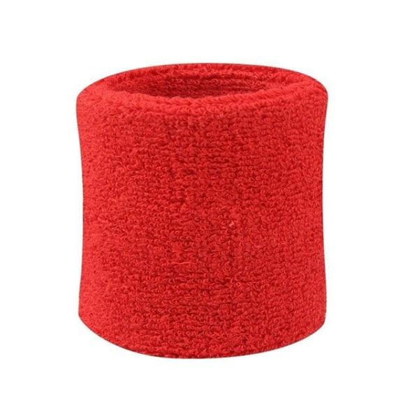 Svedbånd - Ankelrem - Kort [8cm] - Dobbeltpakke - Rød Red