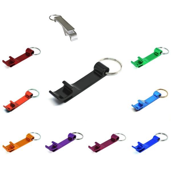 Nyckelring - Flasköppnare - Standard Svart
