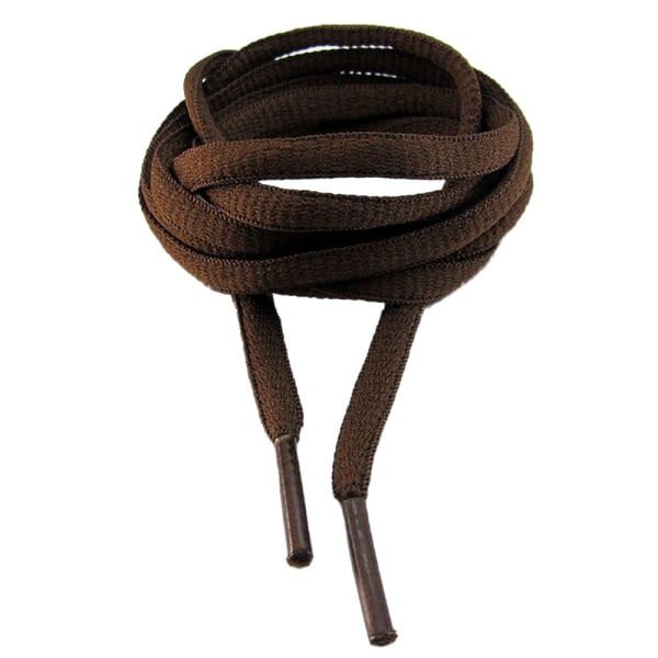 Snørebånd - Brun - Oval [130 cm] Brown one size