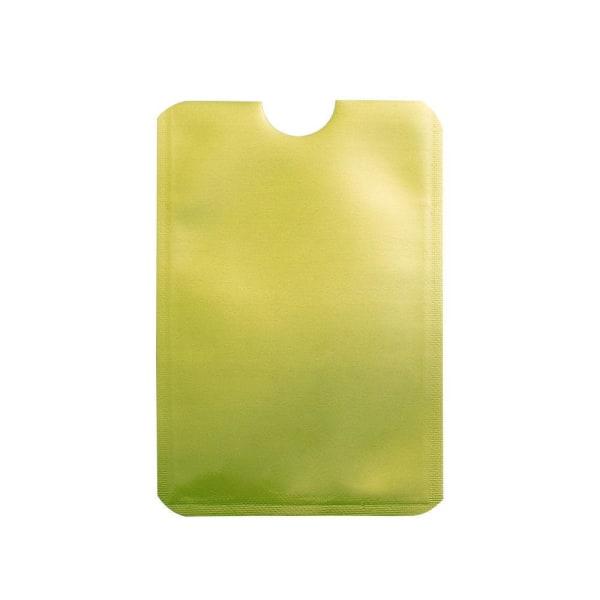 RFID -beskyttelse - Dobbeltpakke - Kortholder - Kortholder - Grøn Green Grön