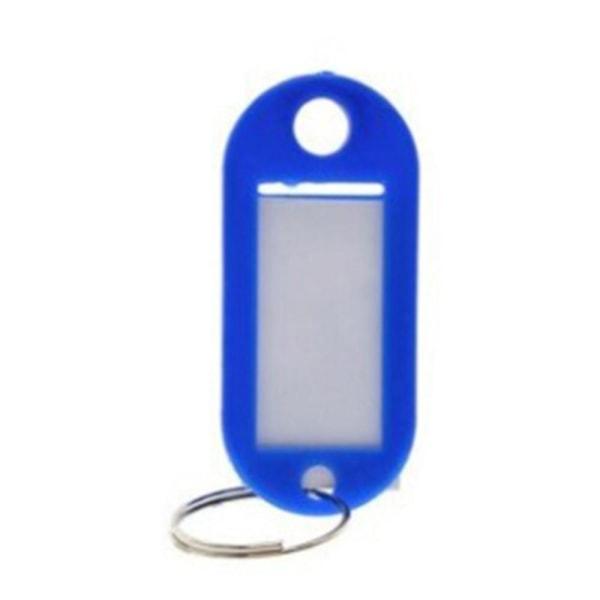 Avaimenperä nimikyltillä [Soikea] - Tummansininen - 5 kpl Dark blue
