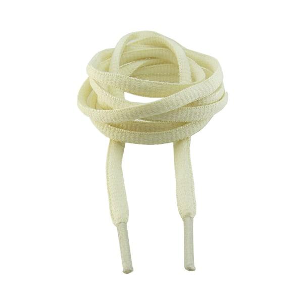 Snørebånd - Vanilje - Oval [130 cm] Vanilla one size