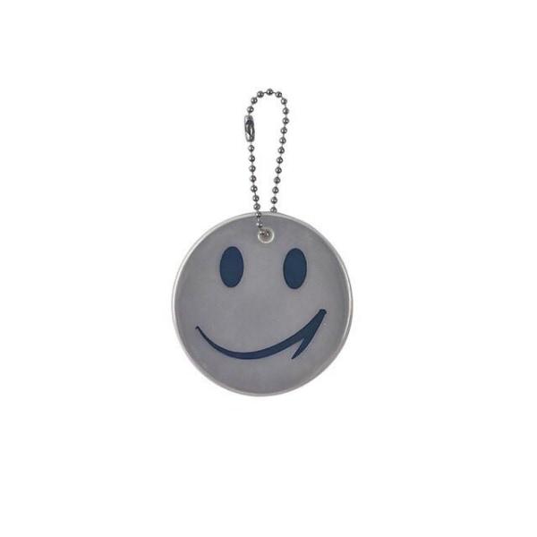 Refleks - Dobbeltpakke - Smiley - Hvid White