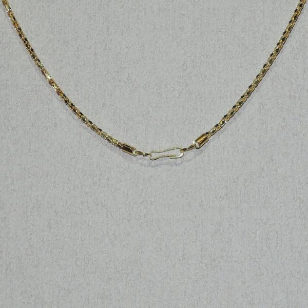 Halskæde - Dobbeltpakke - Guld - 42 cm længde - 2 mm tykkelse Guld 42 cm