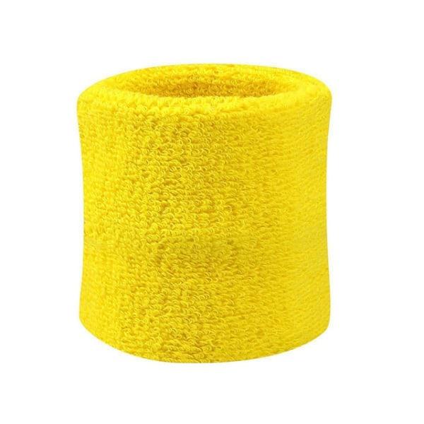 Hikinauha - Nilkkahihna - Lyhyt [8cm] - Kaksinkertainen pakkaus - Keltainen Yellow