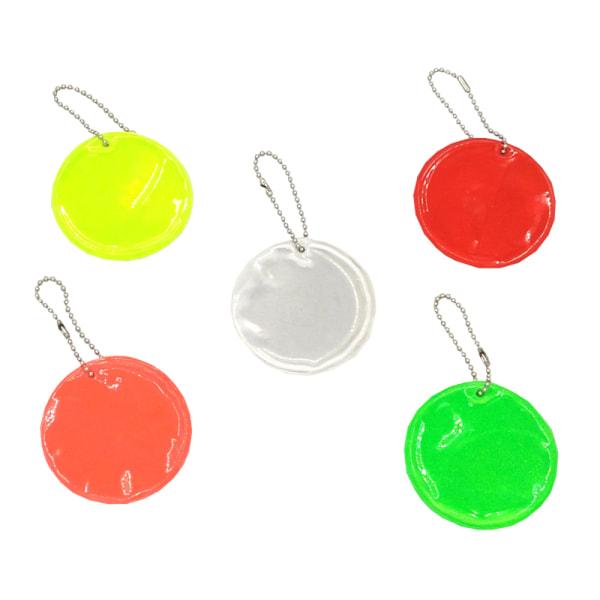 Refleks - Rund - Dobbeltpakke - Grøn Green Dubbelpack Grön