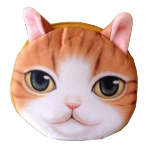 Stribet Orange / Hvid - Pung - Kat - Pung - Minipose [A06] Orange one size