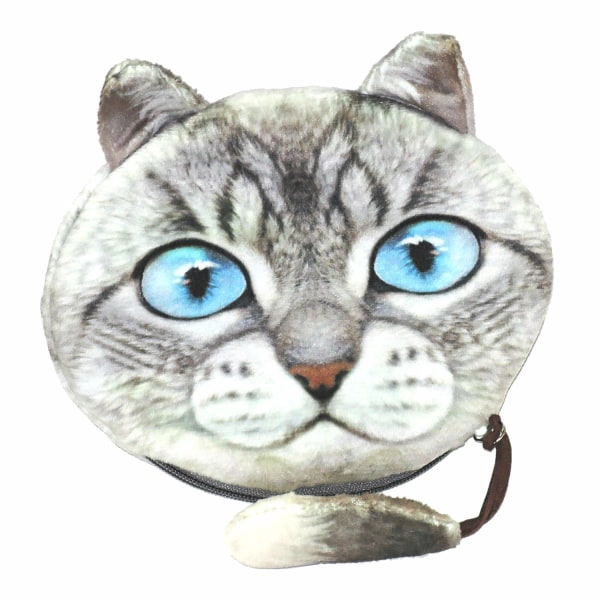 Stor pung med hale - Kat - Pung - Minipose [KmS5]