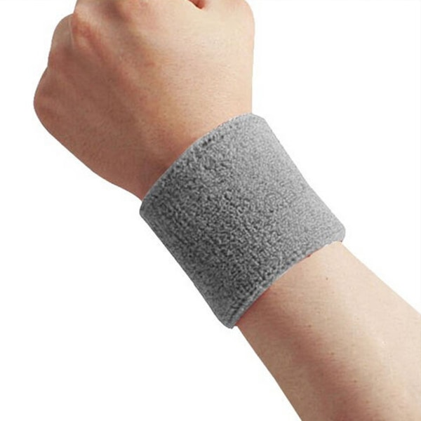 Svedbånd - Ankelrem - Kort [8cm] - Dobbeltpakke - Grå Grey