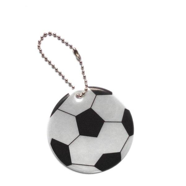 Reflex - Fodbold - Sort / hvid - Dobbeltpakke White