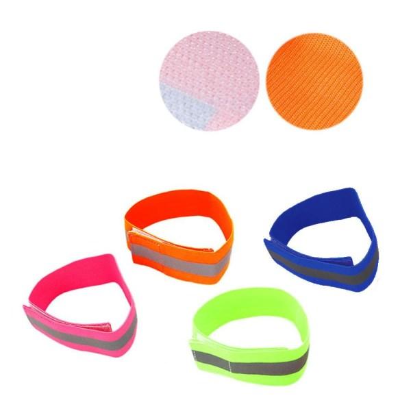 Reflekterende armbånd - Orange - Dobbeltpakke Orange