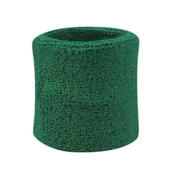 Svedbånd - Ankelrem - Kort [8cm] - Dobbeltpakke - Grøn Green
