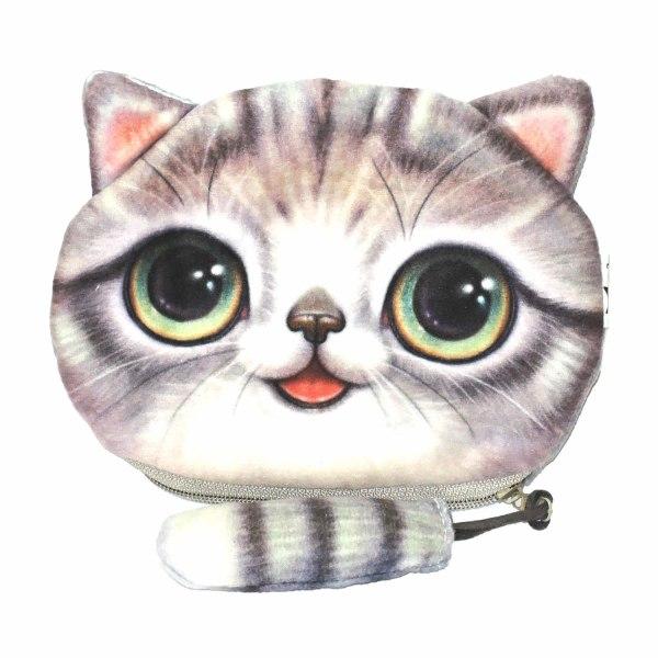 Suuri kukkaro hännällä - Kissa - Kukkaro - Minipussi [KmS4] Multicolor