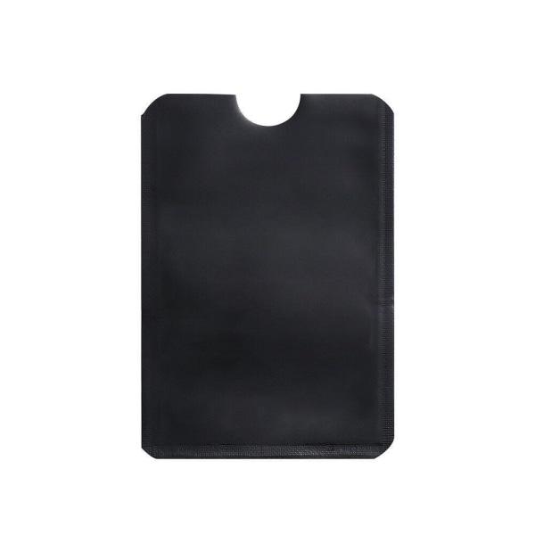 RFID -beskyttelse - 10 stk. - Kortholder - Korthus - Sort Black