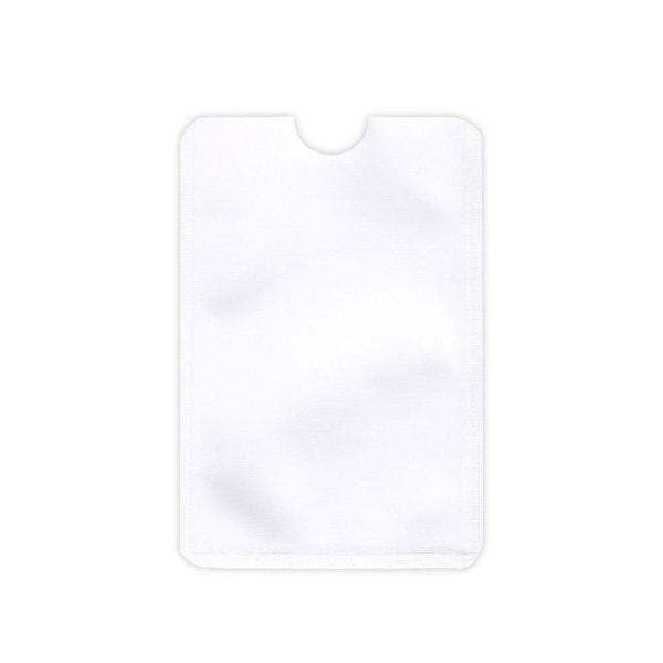 RFID -beskyttelse - Dobbeltpakke - Kortholder - Korthus - Hvid White Vit