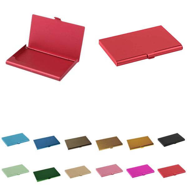 Fleksibel kortholder i aluminium - Beige - Pung Beige