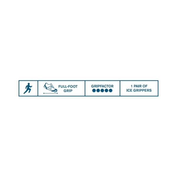Halkskydd Löpning - Active Grip M (38/41)
