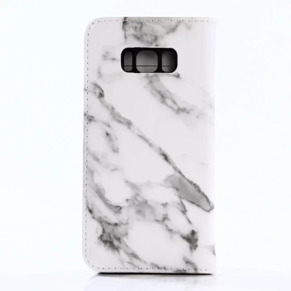 Wallet Case Marble - Samsung Galaxy S8 plus White