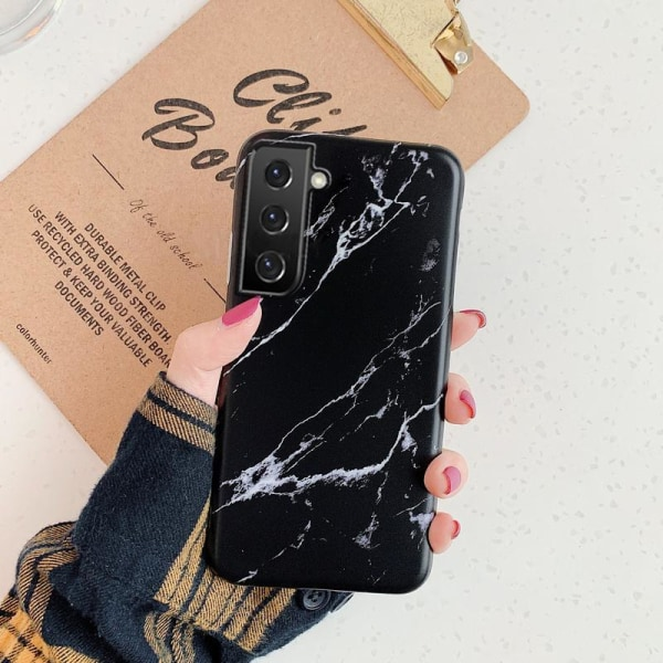 Samsung Galaxy S21 Plus | Marmorskal  Svart