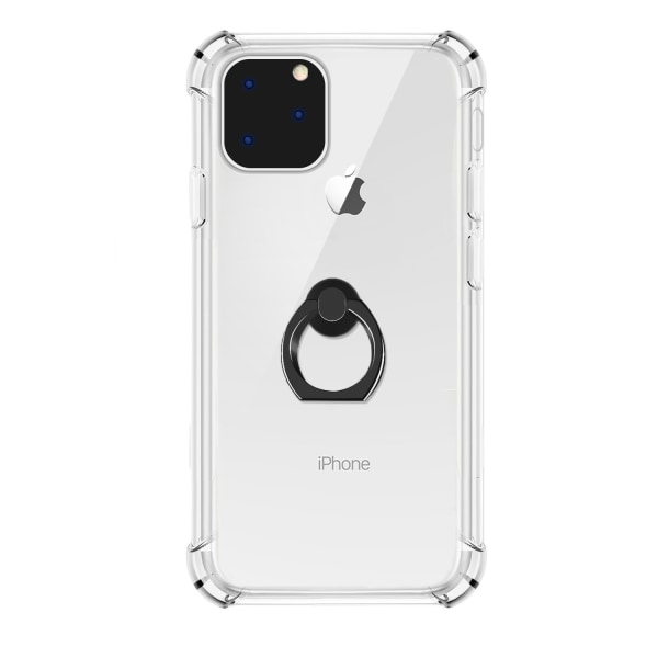 iPhone 11 Pro Max   Skal med Greppring Svart