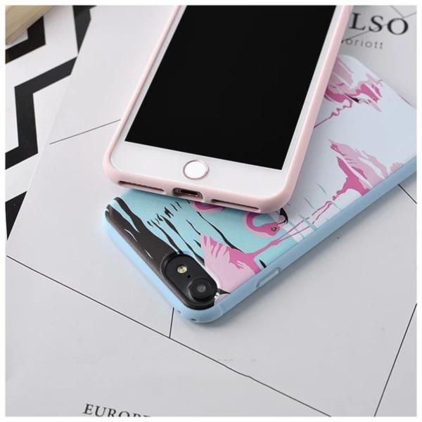 iPhone 7   Designskal med Kaktus eller flamingo på! Pink flamingo