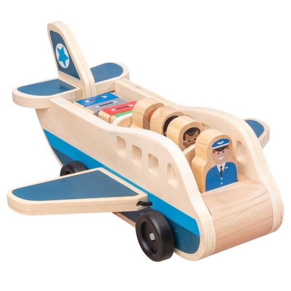 Puinen lentokone matkustajien kanssa
