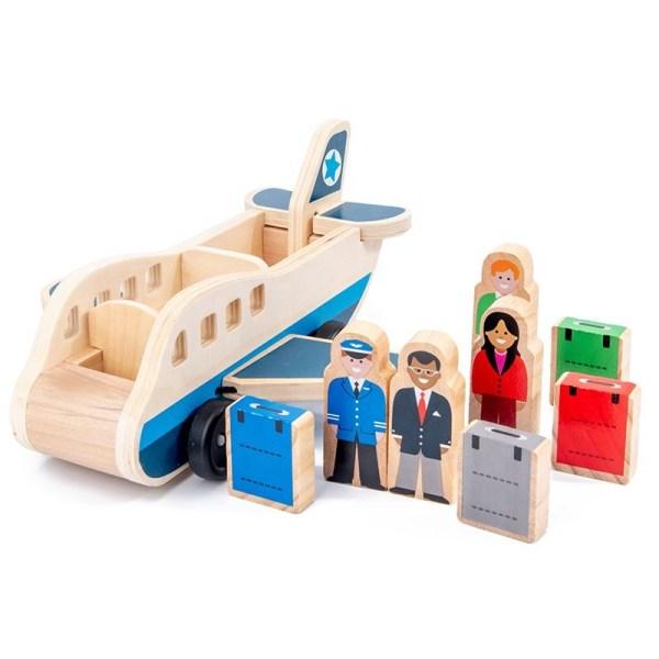 Træfly med passagerer