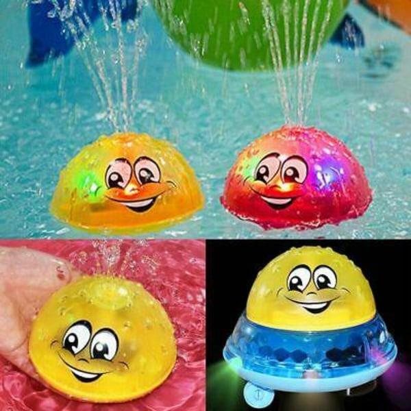 Water sprayer - Space UFO - blinkar, spelar och sprutar vatten,
