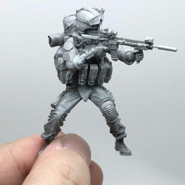1/35 Moderna amerikanska arméns specialstyrkor C hartssoldatmodell