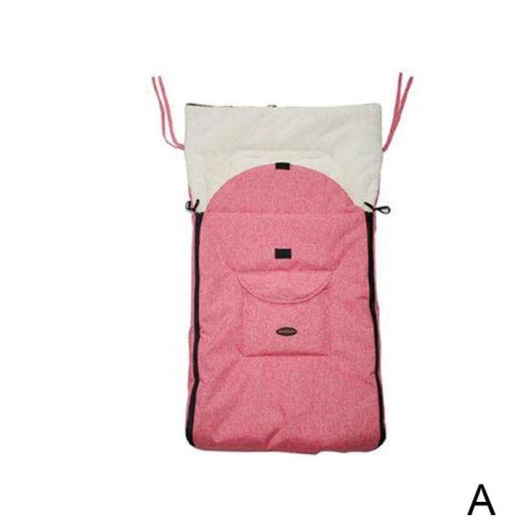 Babysovväska vindtätt skydd för barnvagn varm fotmuff