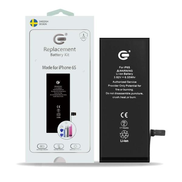 iPhone 6S Batterikit Komplett - Högsta kvalitet
