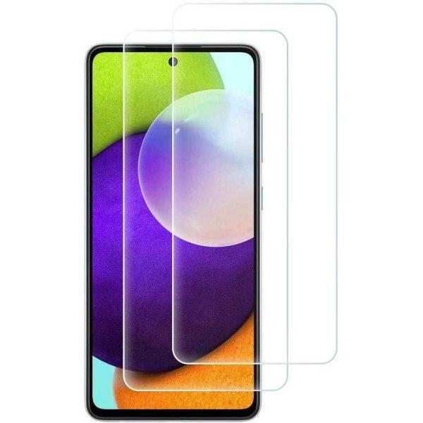 2 Pack Samsung Galaxy A42 Härdat glas 3D Skärmskydd HD  Transparent