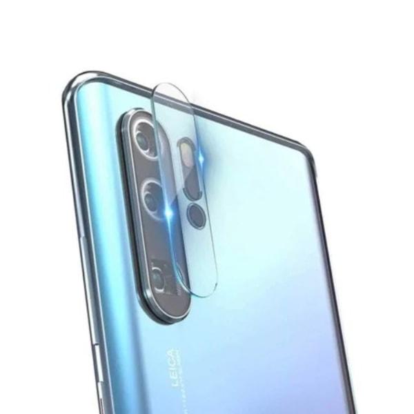 2 Pack Huawei P30 Pro Bak kamera Skärmskydd Härdat glas Transparent