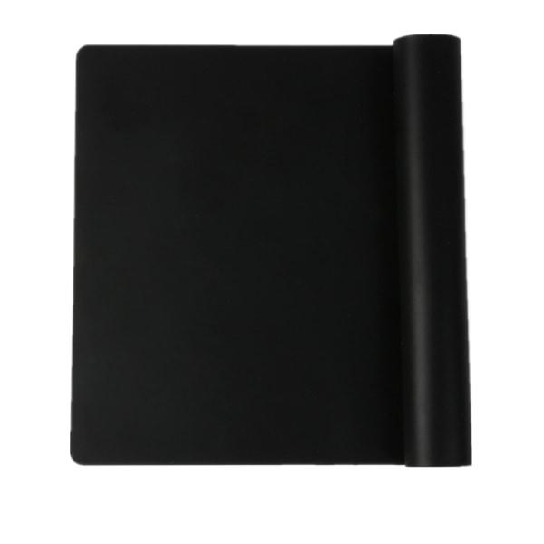 4x Färgglada Silikon Extra Stor Tjock Bakläggning / Bakverk / Pi Matta svart 4