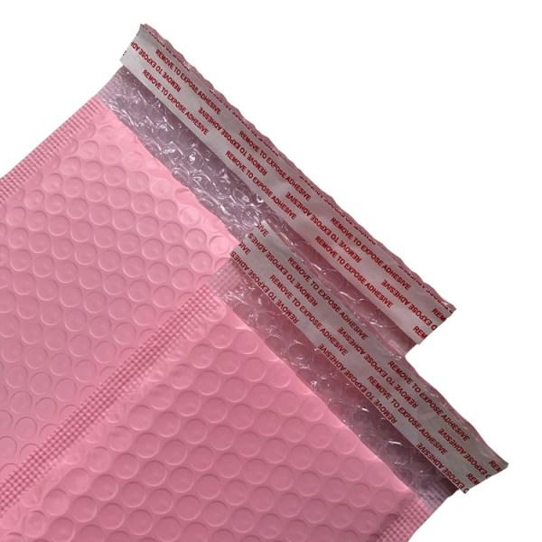 20/50 / 100x Poly Bubble Bag Mailer Plast Polded Kuvert Fraktvä Pink 20pcs 11x15cm