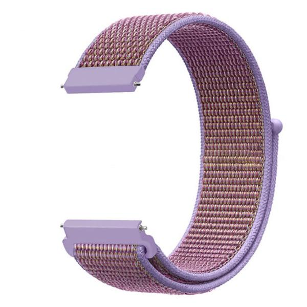 Fitbit Versa 2 Lite Nylonrem Sportvävt ögla Med Armbandsur Lila 1 ST