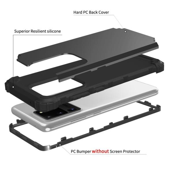 För Samsung Galaxy S21 Ultra S21 Plus Hybrid ShockoProof Hard P