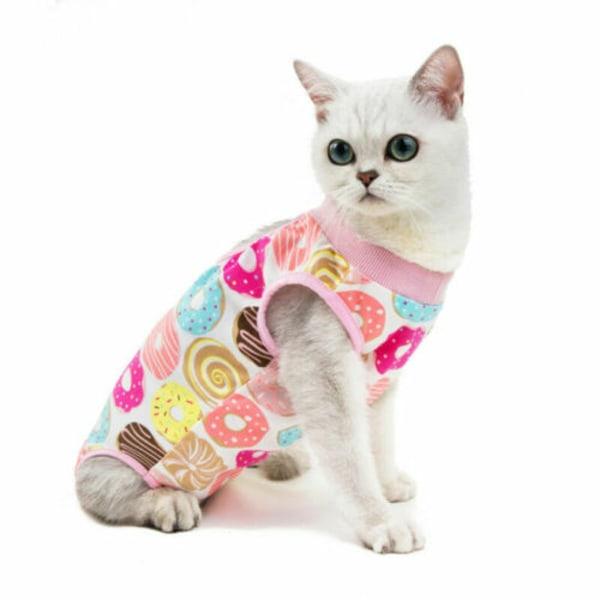 Husdjur katter återvinning avvänjning kostym anti-kvalster elastisk A S