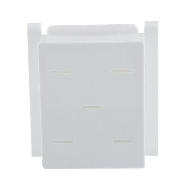 Kylskåp Inre Fäste Hängande Korg Lådförvaringslåda- Vit Vit 1 ST