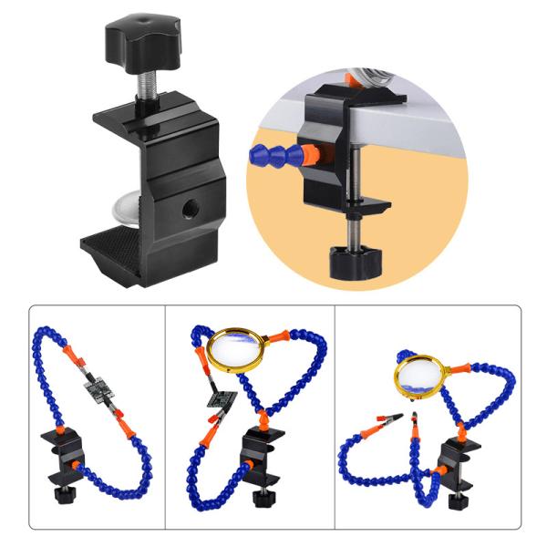 Lödhjälp Händer Händer Lödning Tre Handverktyg 3: e Flexibel Arm