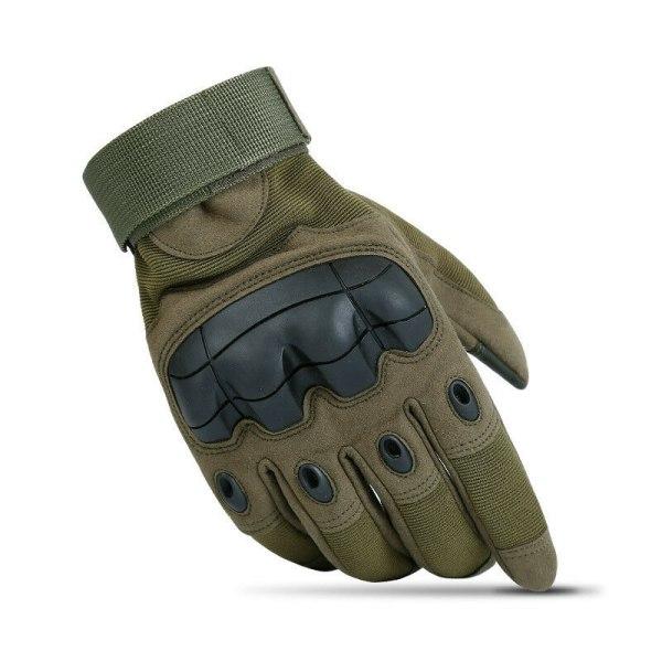 Utomhus taktiska Hard Knuckle Handskar Army Militär Combat Assa Importera armégrön Xl