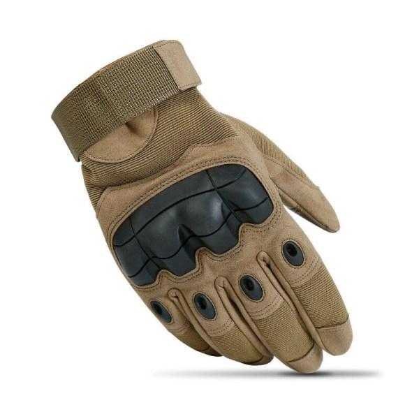 Utomhus taktiska Hard Knuckle Handskar Army Militär Combat Assa Importerad sand Xl