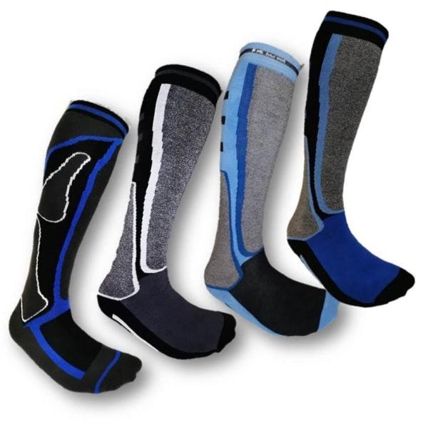 4 Par Högstaberg Sport Skidstrumpor--Socks 4 PAR K-02
