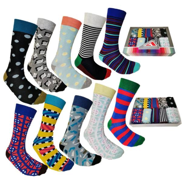 Högstaberg Strumpor 10 Par -Socks  Storlek 40-45 multifärg